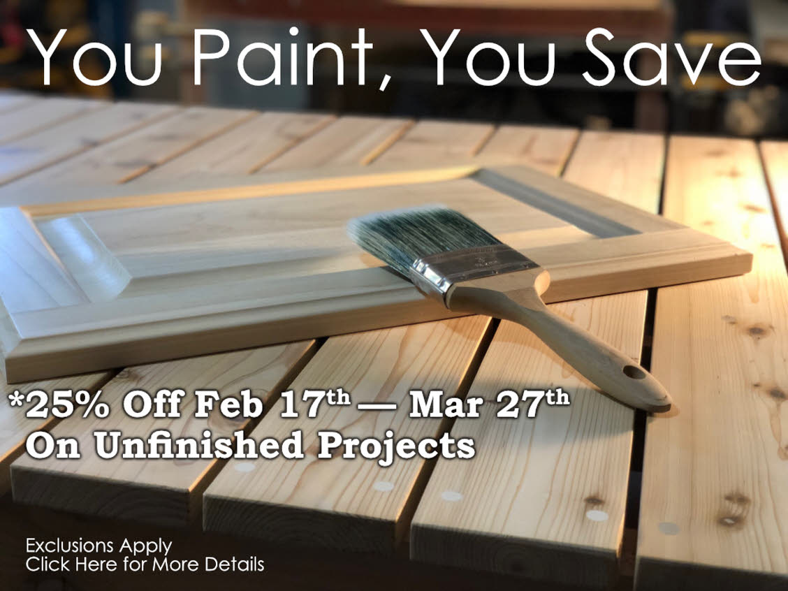 You Paint, You Save Sale