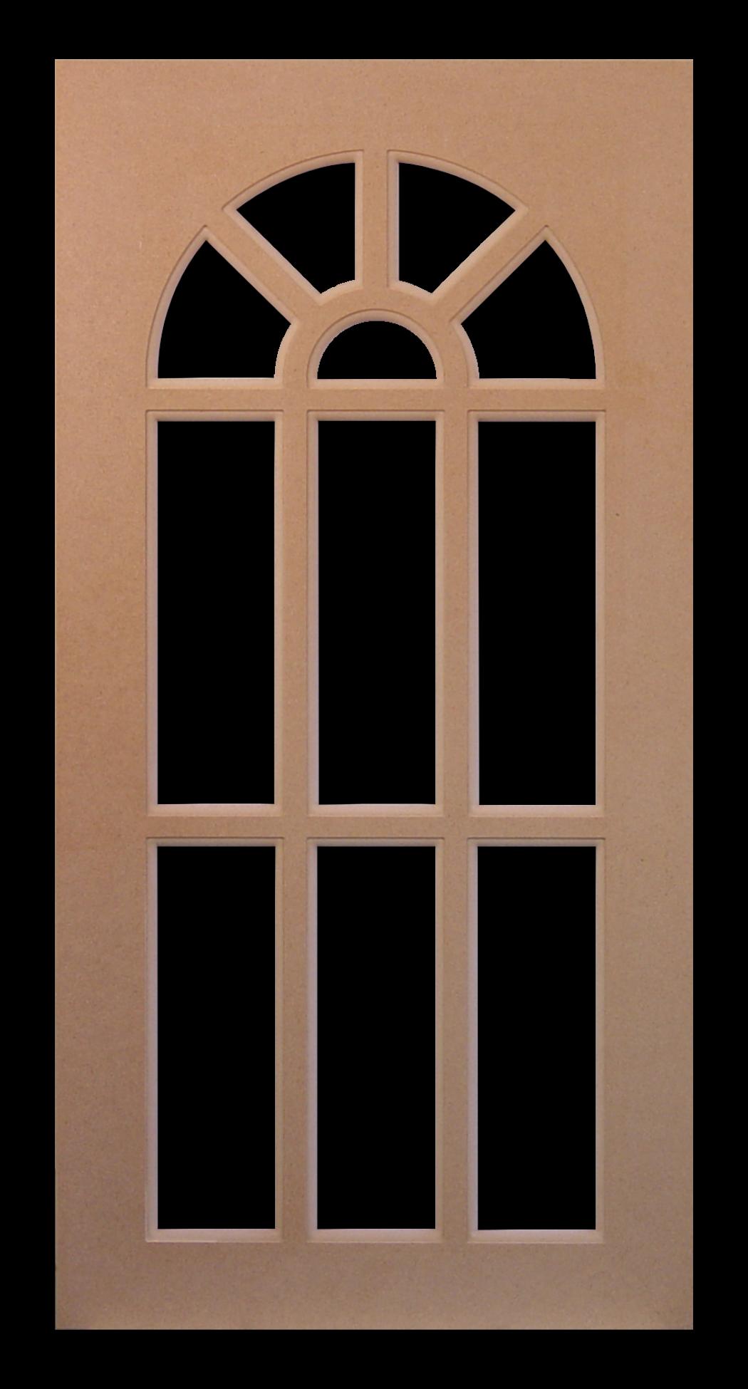 Top Arch\u0027 MDF Mullion Grid \u0027Mirrored . & Mirrored Mullion Doors u0026 ... Top Arch\u0027 MDF Mullion Grid ...