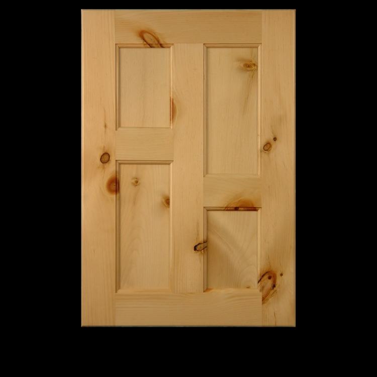 Knotty Pine Cabinet Doors: #113 Cabinet Door